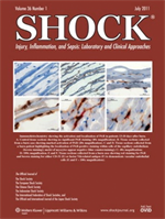 Shock Injury, Inflammation, and Sepsis: Laboratory and Clinical Approaches journal cover