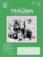 Journal of Trauma and Acute Care Surgery journal cover